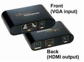 Model: GES ACC-CONV-VGA-HDMII