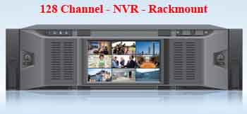 128 Channel NVR Rackmount