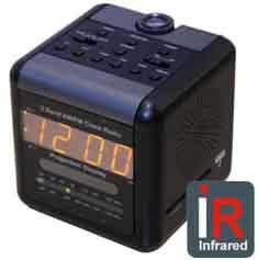 Radio Clock IR Hidden DVR