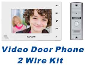 Video Door Phone 2 Wire Kit